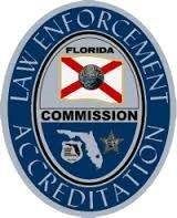 Florida Commission of Law Enforcement Accreditation Badge
