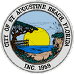 st augustine beach police seal