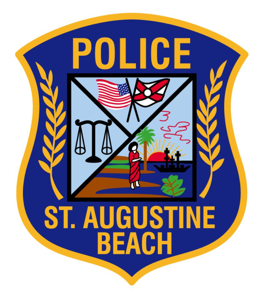 st augustine beach police shield